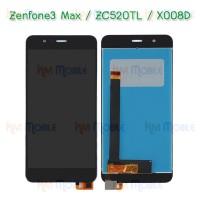 """หน้าจอ LCD พร้อมทัชสกรีน - ASUS Zenfone3 Max / ZC520TL / X008D / 5.2"""""""