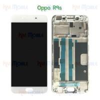 หน้าจอ LCD พร้อมทัชสกรีน - Oppo R9s + เฟรมหน้า (งานเกรด A)