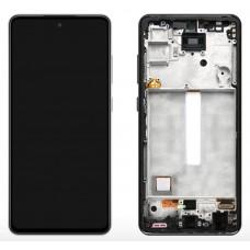 หน้าจอ LCD พร้อมทัชสกรีน - Samsung A52 / A526F (งานแท้+ เฟรมหน้า)