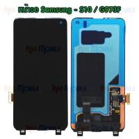 หน้าจอ LCD พร้อมทัชสกรีน - Samsung S10 / G973F / งานแท้
