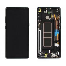 หน้าจอ LCD พร้อมทัชสกรีน - Samsung Note8 / N950 / งานแท้ + เฟรม