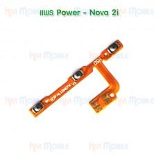 สายแพร Power+Volume - Huawei Nova2i
