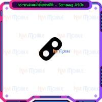 กระจกเลนส์กล้องหลัง - Samsung A10s / A107F (สีดำ)