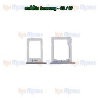ถาดใส่ซิม (Sim Tray) - Samsung E5 / E500 / E7 / E700