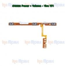 สายแพร Power+Volume - Vivo Y91